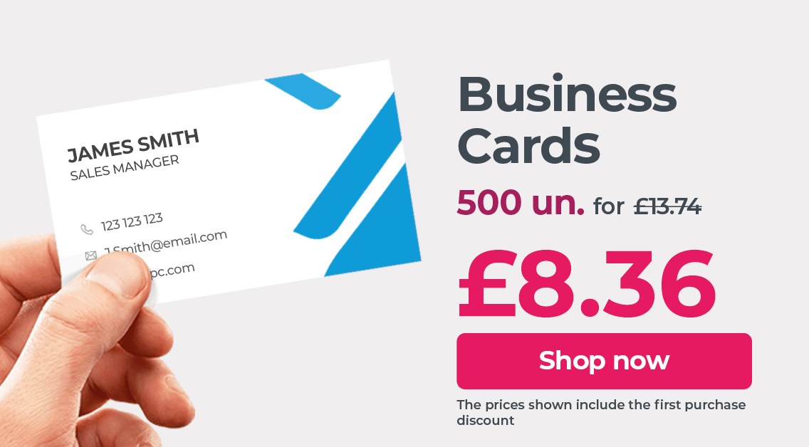 Print Business Cards at the best price. Great quality and fast delivery.