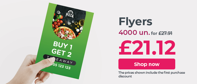 Print Flyers at the best price. Great quality and fast delivery.